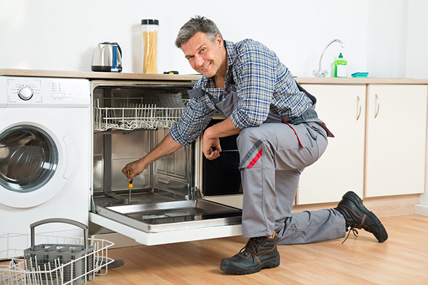 Call our expert technicians. Our technicians know the inner workings of every dishwasher component, and they can easily solve any problem.
